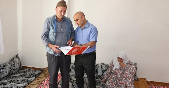 SGK Siirt İl Müdürü Abdulcelil İlbaş'tan Şehit Ailesine Ziyaret