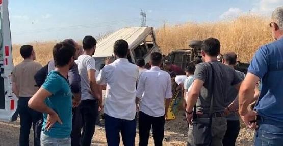 Siirt'te Trafik Kazası:1 Ölü, 5 Yaralı
