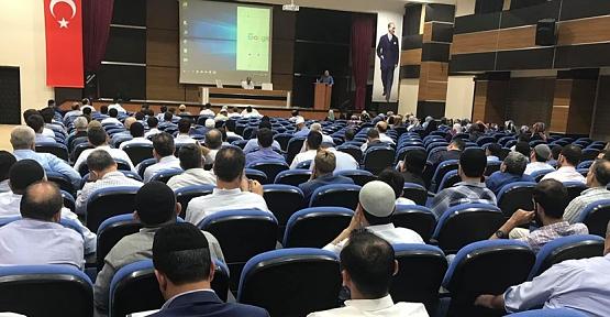 Siirt'te Yaz Kur'an Kursları Öncesi Din Görevlilerine Seminer