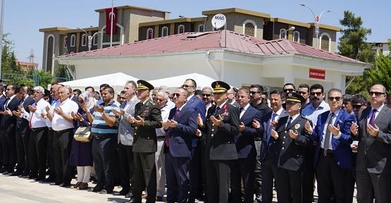 """""""15 Temmuz Demokrasi ve Milli Birlik Günü"""" Kapsamında """"Garnizon Şehitliği"""" Ziyaret Edildi"""
