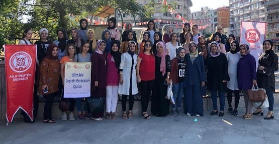 Adem'de Kurs Gören Bayan Kursiyerler Geziye Götürüldü