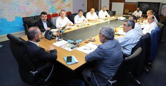 AK Parti İl Başkanı Çalapkulu, Güneydoğu Anadolu İl Başkanları Toplantısına Katıldı