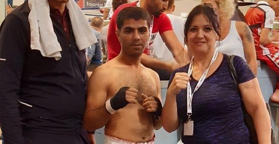 Beron Spor Kulübü Sporcusu Vedat Kayıkçı, Türkiye Kick Boks Şampiyonasında Türkiye 3. Oldu