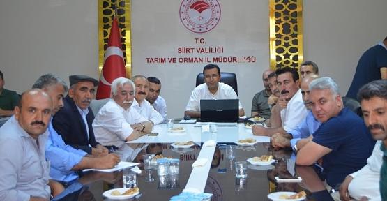 Demirhan, Merkez İlçe Köy Muhtarları İle Değerlendirme ve İstişare Toplantısında Bir Araya Geldi