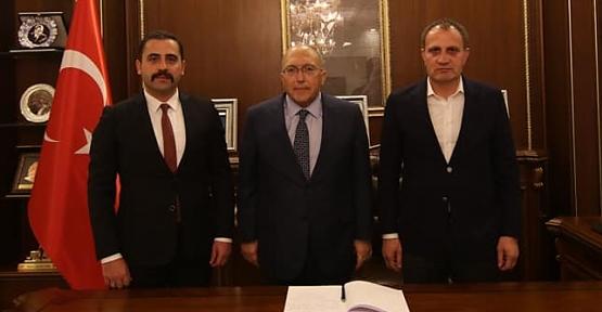 Kültür ve Turizm Bakan Yardımcısı Prof. Dr. A.Haluk Dursun, Pervari İlçemizi Ziyaret Etti