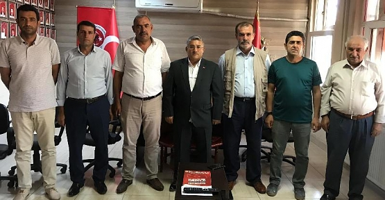 Siirt Şehit Gazi Aileleri Güvenlik Korucuları Dernekler Federasyonu Başkanlığına Mehmet Nedim Ayhan Seçildi