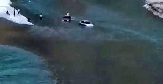 Botan Nehri'nde Mahsur Kalan 2 Kişi Kurtarıldı