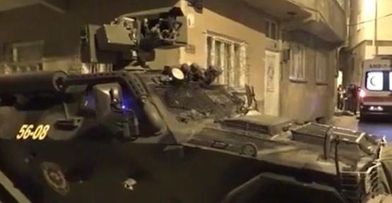 İhbar Üzerine Olay Yerine Giden Polis Ekibine Ateş Açıldı