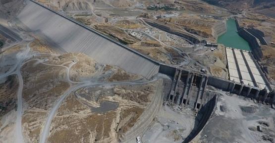Ilısu Barajı'nda Su Tutma Testleri Başladı
