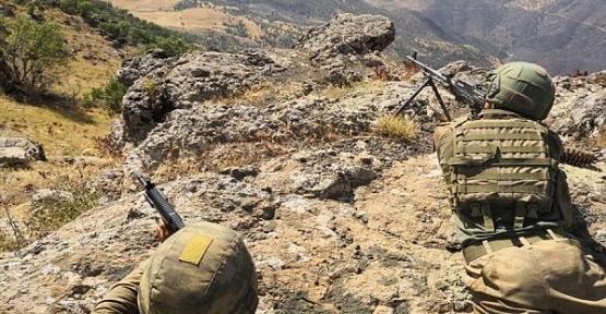 Siirt Baykan,Tunceli Merkez İlçe Kırsalında 3 Terörist Etkisiz Hale Getirildi