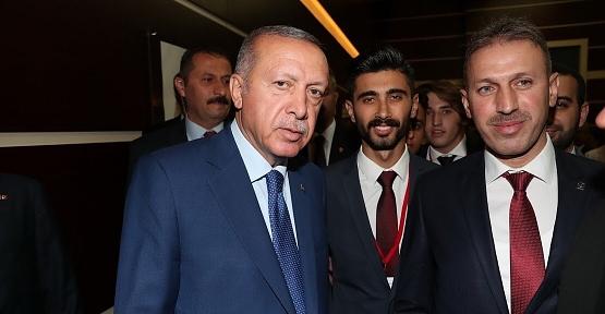 AK Parti İl Başkanı Çalapkulu,Cumhurbaşkanı Erdoğan'a Siirt'in Sorunlarını İletti