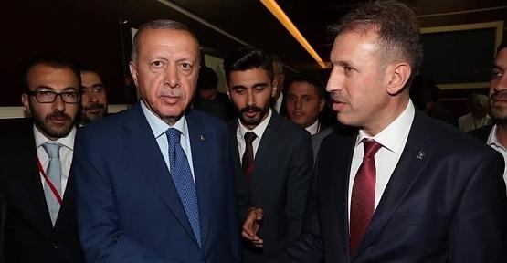 AK Parti İl Başkanı Çalapkulu'dan Cumhurbaşkanımız Recep Tayyip Erdoğan'a Teşekkür
