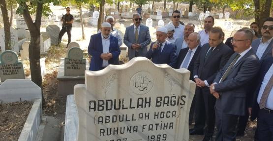 Eski Siirt Belediye Başkanı Abdullah Bağış Mezarı Başında Anıldı