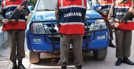Jandarma, Hırsızları Kıskıvrak Yakaladı