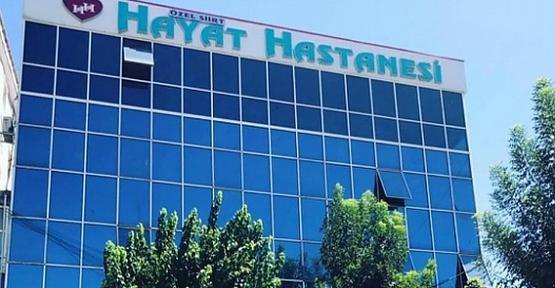 Özel Siirt Hayat Hastanesi, 29 Ekim Bayram Tatilinde Tüm Branşlarda Hizmet Verecek