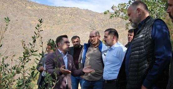 Pervari Kaymakamı Musa Aydemir, Limak Holding Yöneticileriyle Bir Araya Geldi