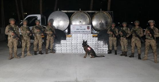 Süt Tankeri İçerisinde 3.989 Kaçak Sigara Ele Geçirildi