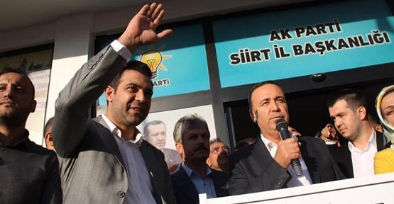 AK Parti İl Başkanı Av. Ekrem Olgaç Göreve Başladı