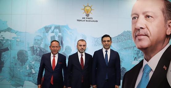 AK Parti İl Başkanlığına Av.Ekrem Olgaç Atandı