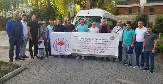 Ekonomik Değeri Yüksek Tıbbi ve Aromatik Bitkilerle İlgili Antalya ve Isparta İllerinde Teknik Gezi Düzenlendi