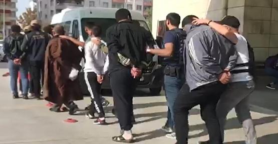 PKK/KCK TERÖR ÖRGÜTÜNE EŞ ZAMANLI OPERASYONDA:16 GÖZALTI