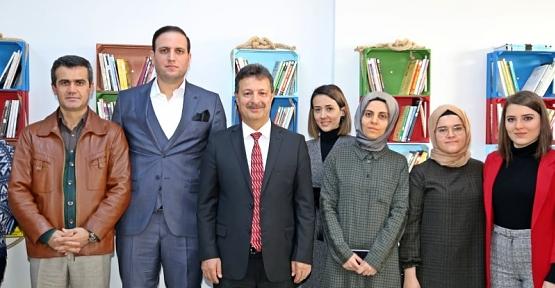 Rektör Erman'dan Öğretmenler Günü Ziyareti