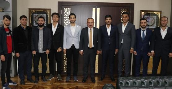 TÜGVA Siirt İl Yönetimi, Vali Atik'e Nezaket Ziyaretinde Bulundu