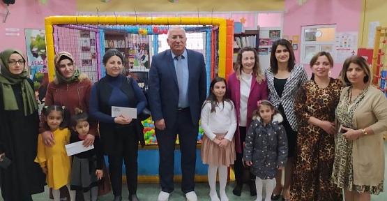 Siirt Vilayetler Hizmet Birliği Anaokulunun Velileri Ödüllendirildi