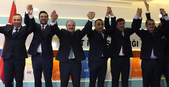 Veysel Karani Belediye Başkanı Murat Akgün AK Parti'ye Geçti