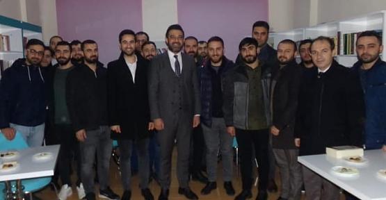 AK Parti İl Başkanı Av. Ekrem Olğaç, TÜGVA'lı Gençlerle Buluştu