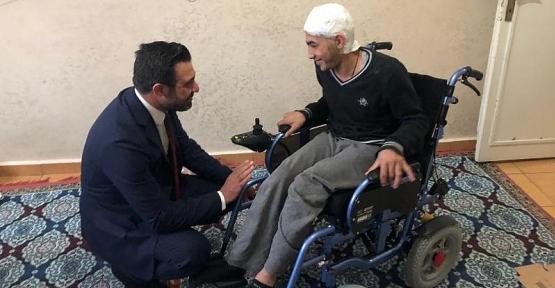 AK Parti İl Başkanı Ekrem Olgaç'tan Ev Ziyaretleri
