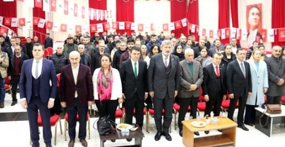CHP Siirt İl Başkanlığına Nevaf Bilek Yeniden Seçildi
