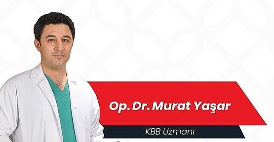 Dr. Murat Yaşar, Akut Farenjit ve Tedavisi Hakkında Bilgi Verdi
