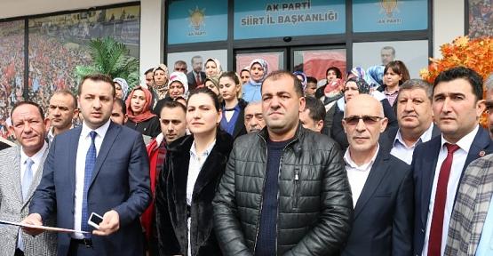 AK Parti Siirt İl Başkanlığından CHP'li Engin Özkoç'a Tepki