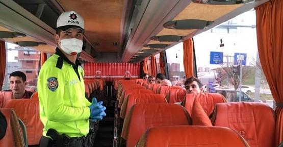 Emniyet, Toplu Taşıma Araçlarına Yönelik Koronavirüs Tedbirlerini Arttırdı