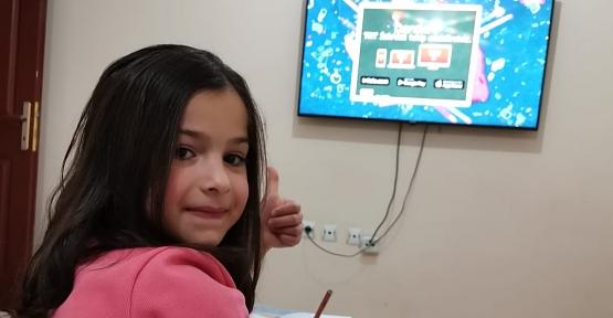 Mehmetçik İlkokulu 2/D Sınıfı Öğrencileri Uzaktan Eğitimi Dikkatle Takip Ediyor