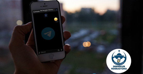 Siirt Dernekler Federasyonu Telegram Kanalı Açıldı