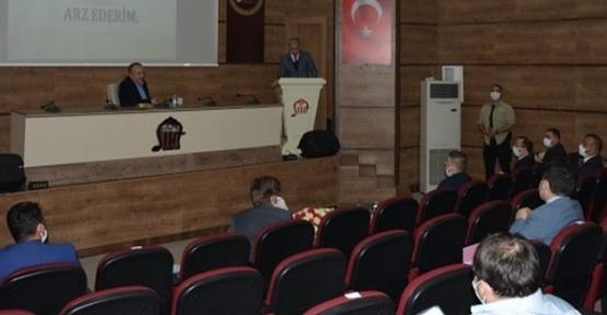 Köydes Toplantısı, Vali Atik Başkanlığında Yapıldı