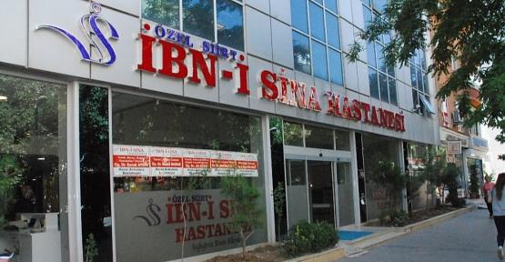 Özel Siirt İbni Sina Hastanesi 23-24-25 Nisan'da Tüm Branşlarda Hizmet Verecek