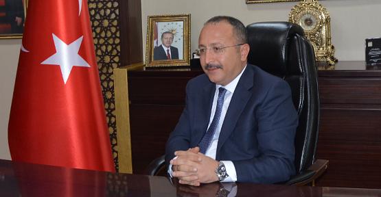 Vali Ali Fuat Atik'in '23 Nisan Ulusal Egemenlik ve Çocuk Bayramı' Mesajı