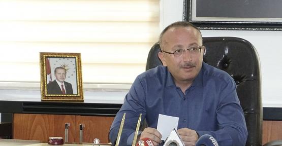 Vali/Belediye Başkan V. Ali Fuat Atik, Şaibeli Hiçbir Şey Belediyede Olmayacak