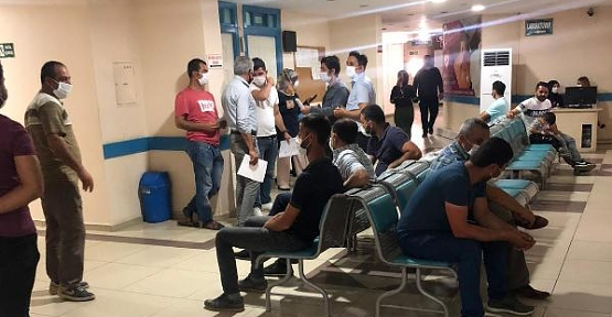 Cengiz İnşaat Çalışanlarını Özel Siirt Hayat Hastanesinde Sağlık Taramasından Geçirdi