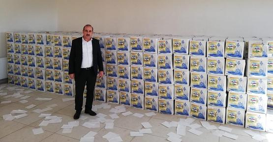 Eruh Belediye Başkanı Çiftçi'den İhtiyaç Sahibi 1200 Aileye Gıda Yardımı