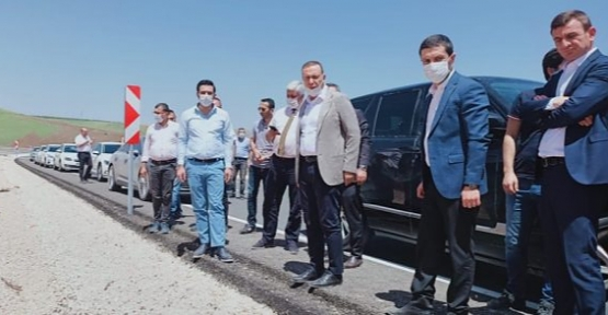 Ören, Olgaç ve Karayolları Bölge Müdürü Ceylan, Yollarda İncelemelerde Bulundular