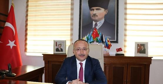 Vali/Belediye Başkan V. Ali Fuat Atik'in  19 Mayıs Mesajı