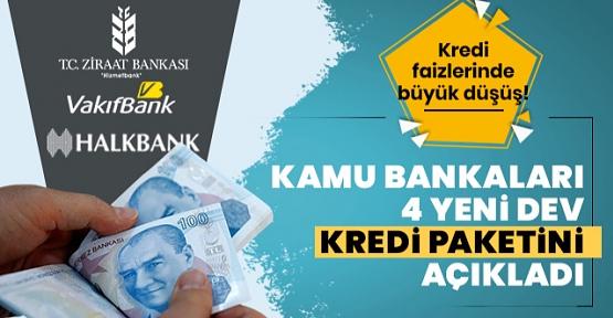 Kamu Bankaları Konut, Taşıt, Tatil ve Mobilya İçin Yeni Kredi Paketleri Hazırladı