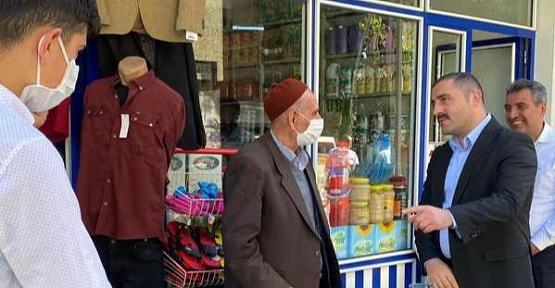 Pervari Kaymakamı Musa Aydemir'den Pervari Halkına Teşekkür