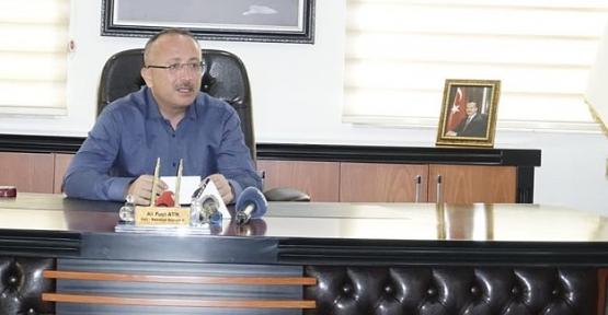 Vali/Belediye Başkan V. Ali Fuat Atik, Murat Marketle İlgili Açıklamada Bulundu