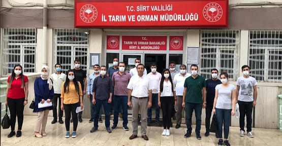 16 Mühendis, 19 Veteriner Hekim Sözleşme İmzalayarak Göreve Başladı