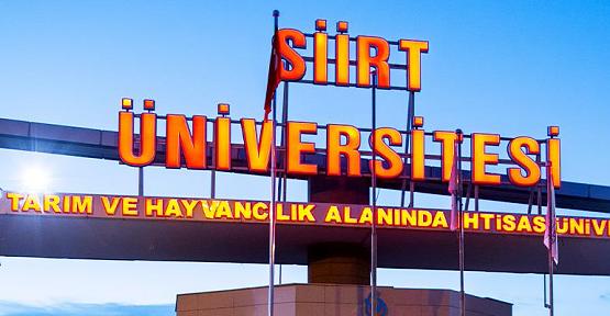 Siirt Üniversitesi 2019 Yılı Yayın Sıralamasında 35. Sırada